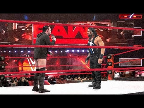 2017 ☁ CM Punk Returns to WWE and confronts Roman Reigns ᴴᴰ