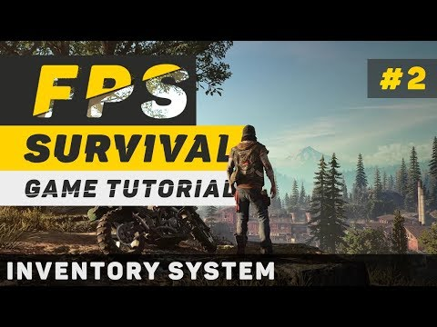 Creating a Survival Game in Unity | Part 2: Inventory (Unity 5 Tutorial)