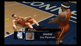 NCAA College Basketball 2K3 - XBOX Gameplay - UConn vs Syracuse