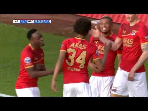 Calvin Stengs - AZ Alkmaar Video's