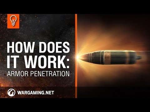 World of Tanks PC - Explaining Mechanics - Armor Penetration
