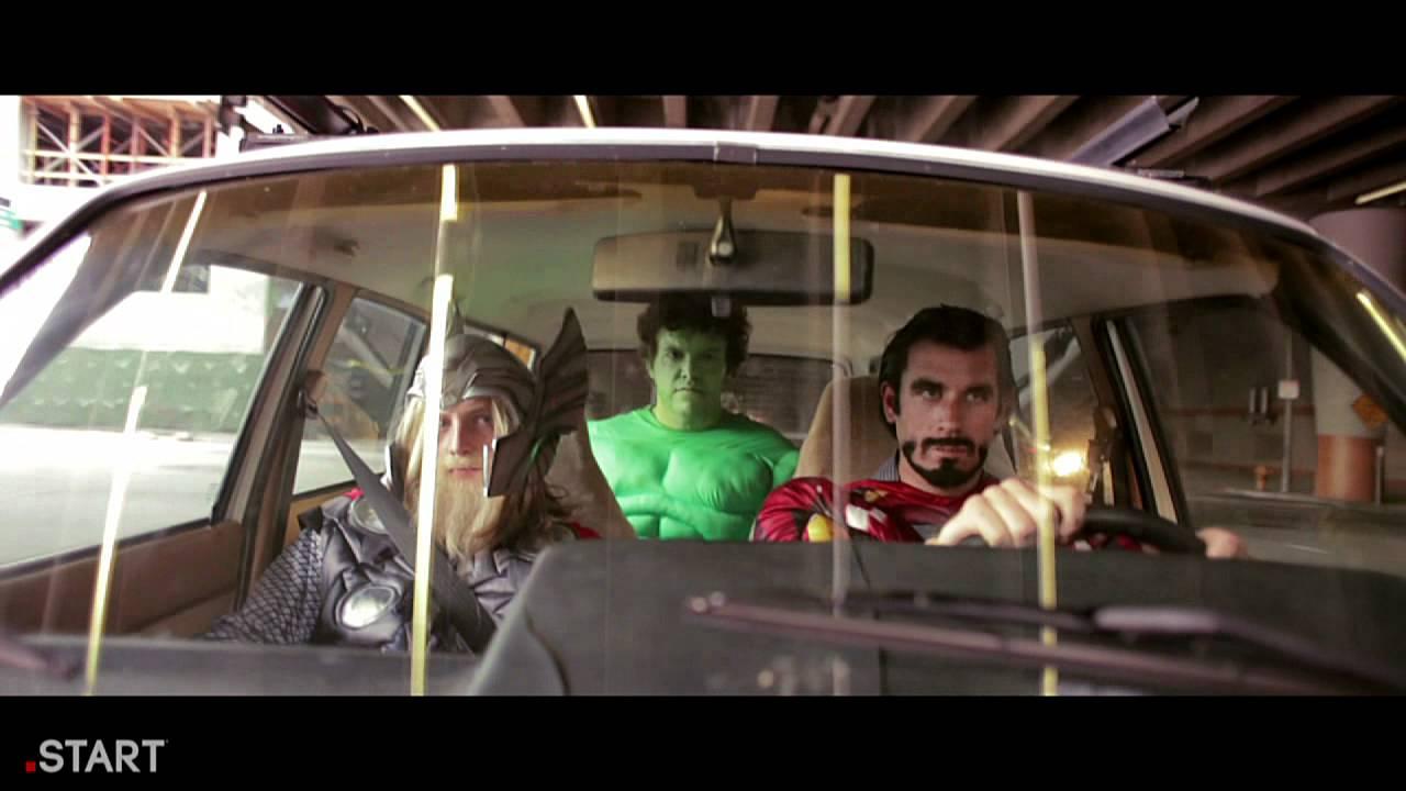 The Avengers Hangover Trailer