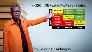 MKT20 GE MatrixMcKinsey Matrix