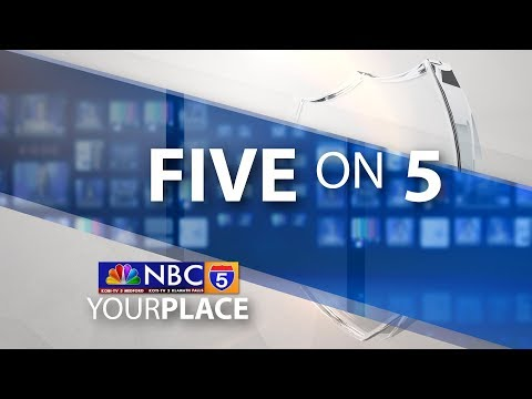 Five on 5 - Rachael Ward & Ron Fair - Stamp Out Hunger Food Drive