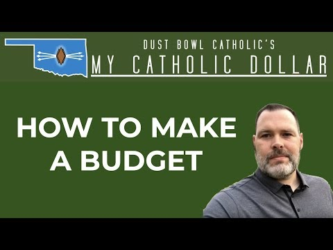 How to Create a Budget - My Catholic Dollar 008