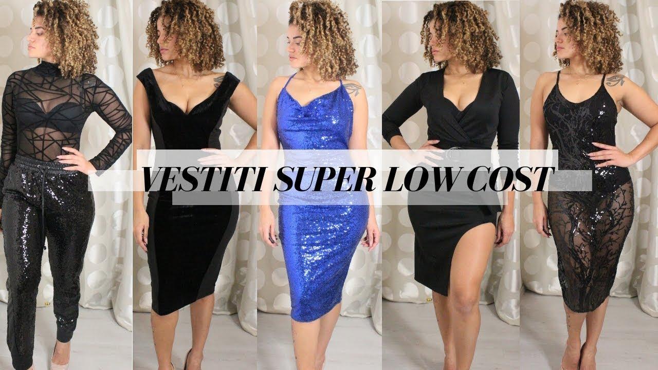 vestiti low cost
