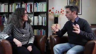 Présentation du Cinéscope par Teresa Garcia Rivera et Fabrice Pierredon