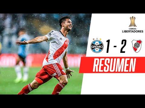 Gremio 1-2 River Plate | RESUMEN HIGHLIGHTS | Semifinales (VUELTA) | CONMEBOL Libertadores
