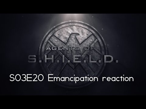 Agents of SHIELD S03E20 Emancipation reaction