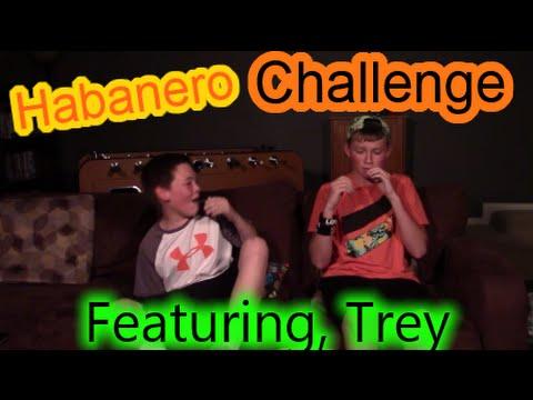 Habanero Challenge   Feat. Trey!