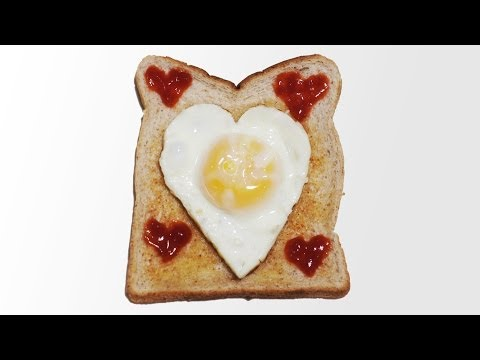 How to Make a Heart Fried Egg - Valentine's Day Breakfast
