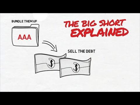 THE BIG SHORT MOVIE EXPLAINED ANIMIATED