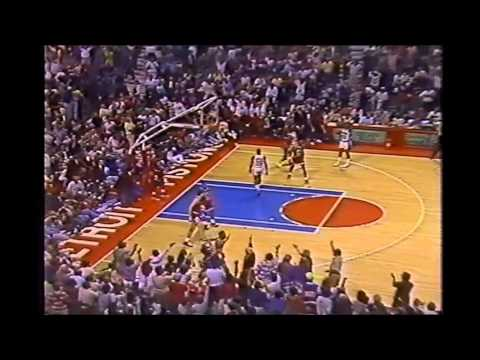1990 Playoffs: Chicago@Detroit Game 7 HIGHLIGHTS