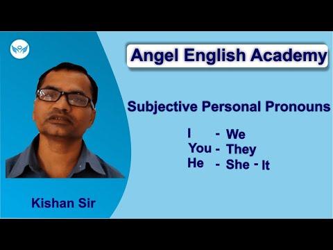 Learn Subjective Personal Pronouns 'I-we-you-he-she-it-they' [Gujarati-English]