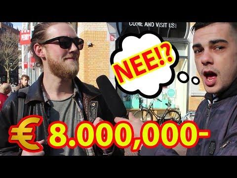 €8.000,000 EURO OP JE REKENING!? - HOEVEEL GELD HEB JIJ OP JE REKENING?