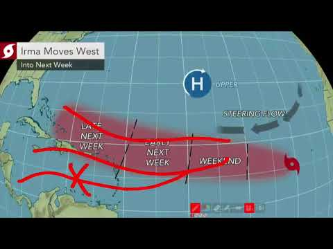 Hurricane Irma could threaten Caribbean islands