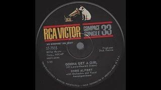 Dore Alpert (Herb Alpert) - Gonna Get A Girl - 1961 Teen Pop on RCA Victor Compact 33 pressing