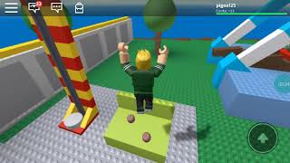Escape from natural disasters in ROBLOX