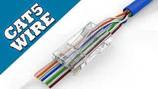 How to make CAT-5 Cable / Network Wire - Tutorial Guide
