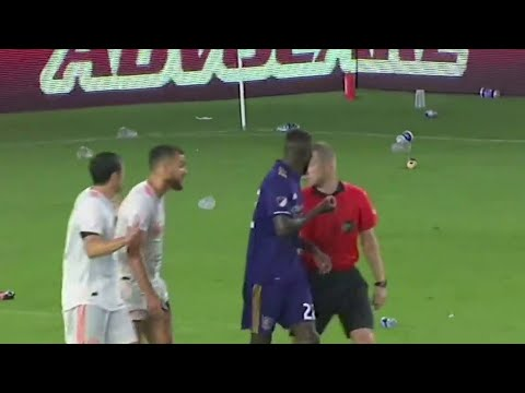 Orlando City taking action after debris thrown on field