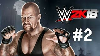 WWE 2K18 Walkthrough Gameplay Part 2 – Universe Mode PS4 1080p Full HD – No Commentary