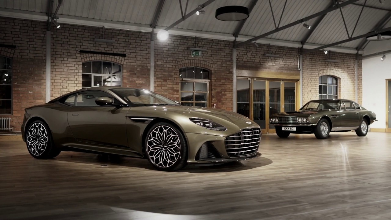 Aston Martin On Her Majesty S Secret Service Dbs Superleggera Special Edition Youtube