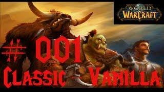 Let´s Play - World of Warcraft Classic #001 (Vanilla) [German]