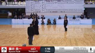 R.FUJII Ke- H.KIKUCHI - 62nd All Japan TOZAI-TAIKO KENDO TAKAI - MEN 19