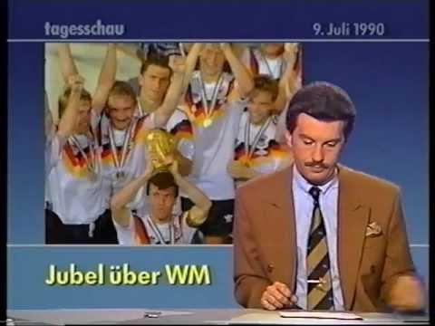 ARD Tagesschau Nachmittagsprogramm 9.7.1990 Franz Laake