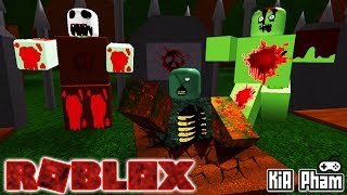 Roblox | ESCAPE The GRAVEYARD GHOSTS HAUNTED ZOMBIE SALVE-Escape The Haunted Cemetery | Kia Breaking