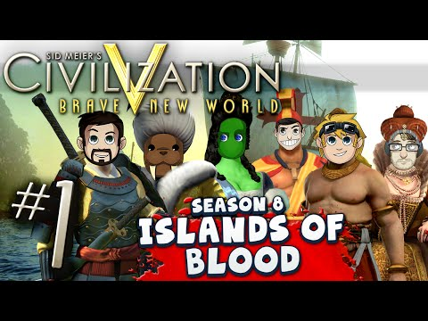 Civilization 5 Islands of Blood #1 - Wheat Doner