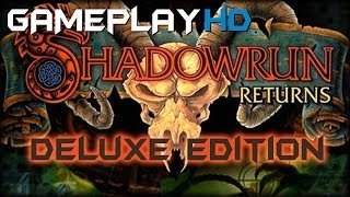 Shadowrun Returns Deluxe Edition Gameplay (PC HD)
