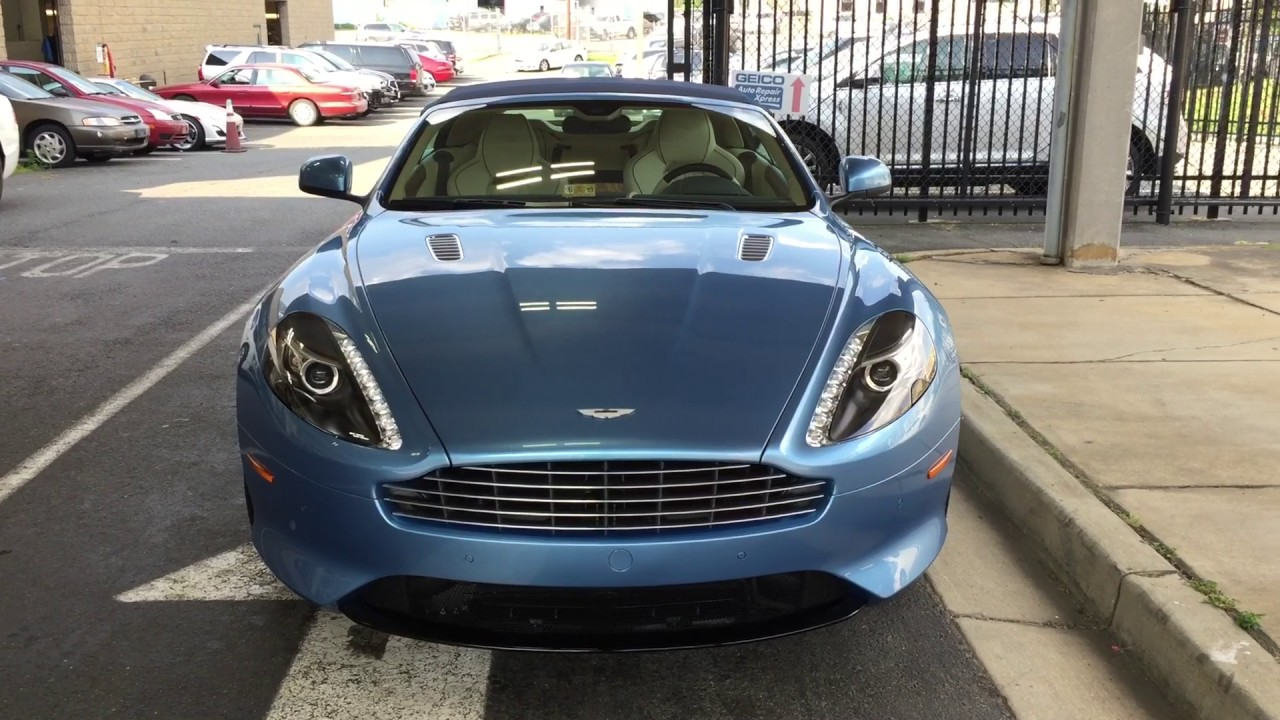 Aston Martin DB Volante Paint Protection Film Aston Martin - Aston martin washington dc