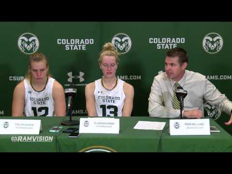 Colorado State Basketball (W): Postgame vs. Boise State