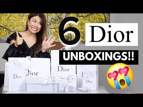 MASSIVE DIOR UNBOXINGS/HAUL - MEL WENT A LITTLE CRAZY! 🤪😂