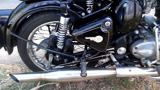Red Rooster Performance Exhaust on Royal Enfield UCE! Sweet Bassy Thump Ever.!