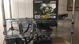 B250-Fintech 12 GPU motherboard for crypto currency mining