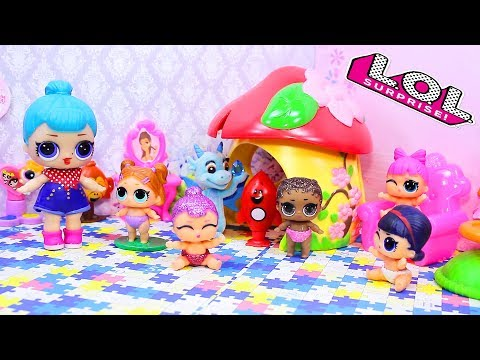 Куклы лол сюрприз | МАРИЯ Теперь не жадная! Мультики с игрушками для детей Lol Dolls