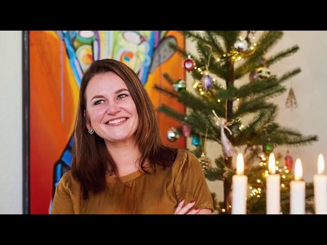 En god og glædelig jul - Katrine på toppen