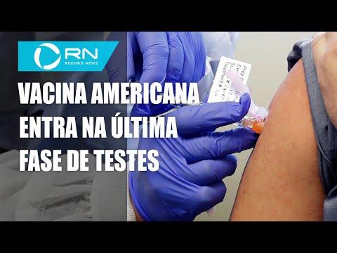 Vacina americana entra em estágio avançado de testes