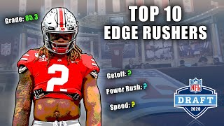 Top 10 EDGE Rushers In The 2020 NFL Draft