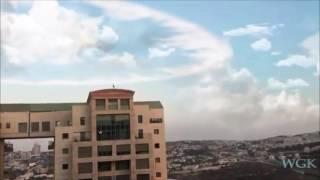 зафиксирован звук Шофар и святой НИМБ над Израилем