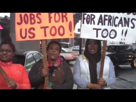Hip-Hop Artists and community Rally for Jobs in Seattle