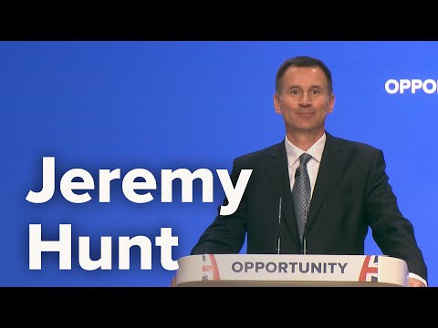 Jeremy Hunt, Secretary of State for Foreign and Commonwealth Affairs - CPC18