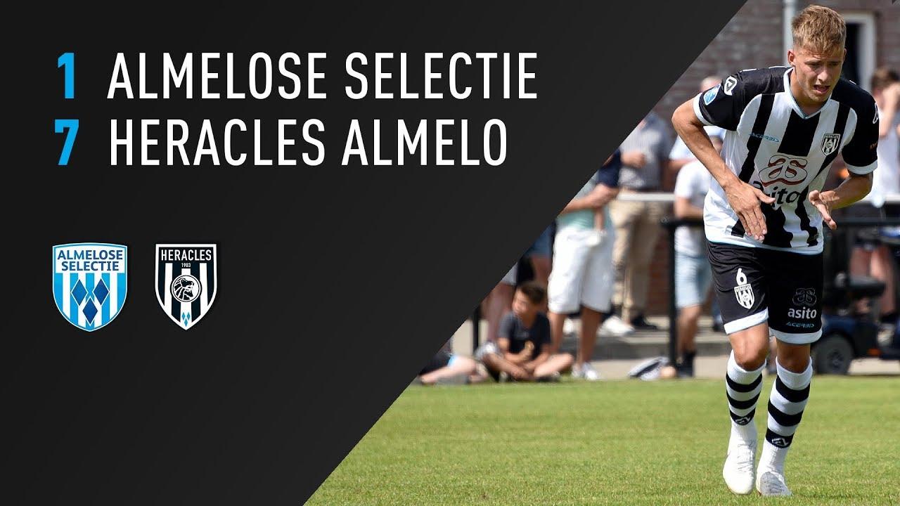 Almelose Selectie - Heracles Almelo 1-7 | 07-07-2018 | Samenvatting