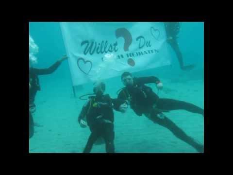 Heiratsantrag unter Wasser ( Luxuslärm - von jetzt an -)