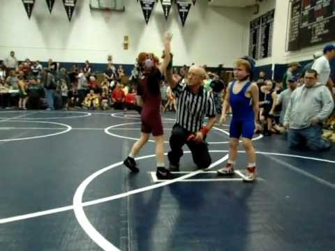 Lexie Wrestling At Muncy Pa