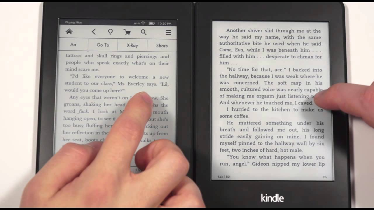 Amazon Kindle Paperwhite 1 vs Paperwhite 2