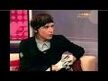 Capture de la vidéo Iamx Chris Corner Interview On Puls Tv 2004