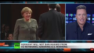 US campaign to block Huawei has 'little success' in Europe – Ben Swann